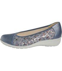 skor goldkrone ljusblå