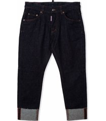 dsquared2 skinny trousers with print