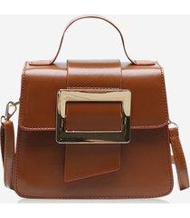 retro rectangle embellished crossbody bag