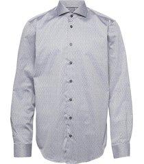 t in t star pattern overhemd casual blauw bosweel