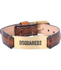 dsquared2 branded bracelet