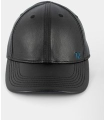 gorra de cuero liso