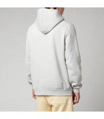 holzweiler men's fleek pullover hoodie - light grey - xl