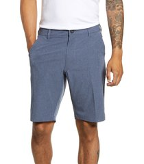 men's 7 diamonds aeroplane slim fit hybrid shorts, size 29 - blue