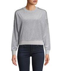 heathen studded sweatshirt