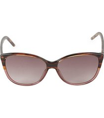 58mm cateye sunglasses
