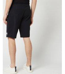 ps paul smith men's jersey shorts - black - s