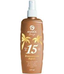 óleo bronzeador spray fps15 anasol 125ml