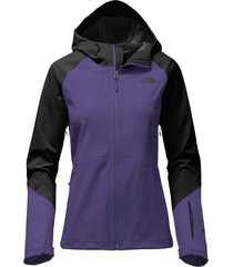 northface women's navy black apex flex gtx weatherproof hooded  fit rain jacket