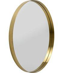 złote lustro 60cm, metal