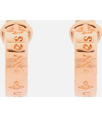 vivienne westwood women's bobby earrings - pink gold