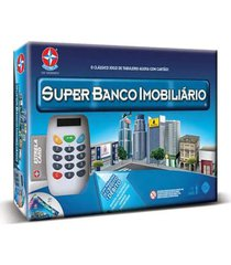jogo de mesa super banco imobiliã¡rio estrela 12+ - multicolorido - dafiti