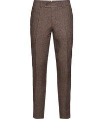 azour rodney linen trouser kostymbyxor formella byxor brun morris