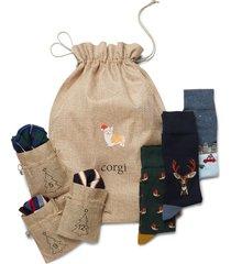 corgi socks & hosiery