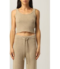 federica tosi top federica tosi top in cashmere and wool