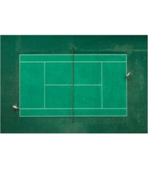 "fegari game set match canvas art - 15"" x 20"""