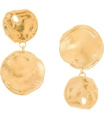 alighieri the flame earrings - gold