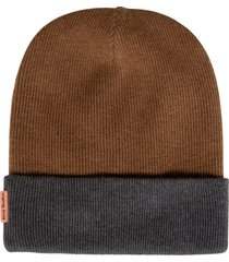 acne studios colourblock beanie