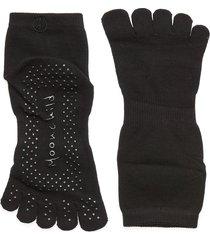 moonchild grip socks - high accessories sports equipment yoga equipment svart moonchild yoga wear