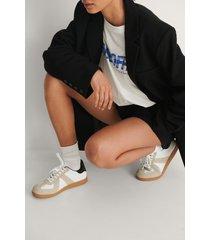 na-kd shoes träningsskor med sicksackmönster - multicolor