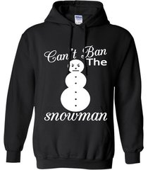 young jeezy can_t ban the snowman  christmas funny t-shirt hoodie