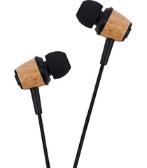 audífonos bluetooth, awei q9 de madera en los auriculares auricular de sonido profundo estupendo (amarillo beige)
