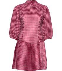 odina dress kort klänning röd résumé