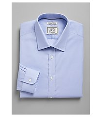 1905 collection extreme slim fit spread collar diamond dot dress shirt - big & tall clearance, by jos. a. bank