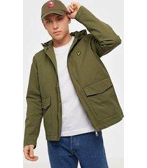 lyle & scott double pocket jacket jackor green
