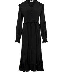klänning pclisa ls midi dress