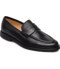 morris penny loafers loafers låga skor svart morris