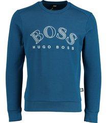 hugo boss pullover salbo kobaltblauw rf 50418718/434