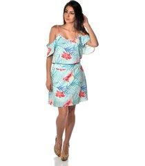 662feb365 Vestidos - Estampada - Crepe Viscose - Floral - 2 produtos com até ...