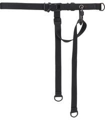 tobias birk nielsen canvas utility belt - black