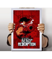 poster cowboy redemption