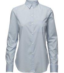 classic stretch shirt långärmad skjorta blå filippa k