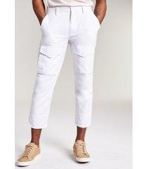 sun + stone men's bleeker solid crop pants, created for macy's