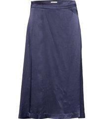 lr-florence knälång kjol blå levete room