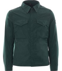 belstaff command shirt | pine | 71120263-20119