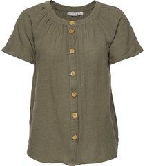 frjaslub 1 blouse blouses short-sleeved fransa