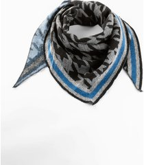 foulard a triangolo (blu) - bpc bonprix collection