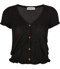24 colours shirt / top zwart 11340