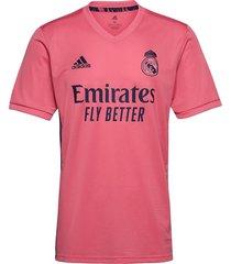 real madrid away jersey t-shirts football shirts roze adidas performance