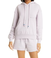 women's staud hoodie sweatshirt, size x-small - purple