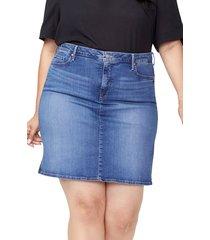 plus size women's nydj denim skirt