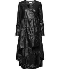 2nd alvina dresses wrap dresses svart 2ndday