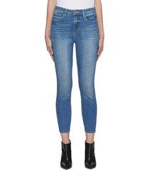 'margot' light wash skinny jeans