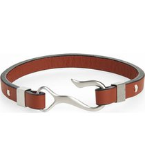 men's nordstrom men's shop leather hook bracelet
