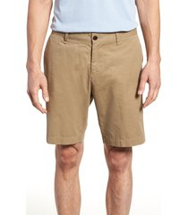 men's rodd & gunn lambton regular fit shorts, size 42 - white