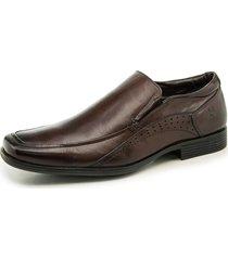 zapato marrón ferricelli iberian loafer